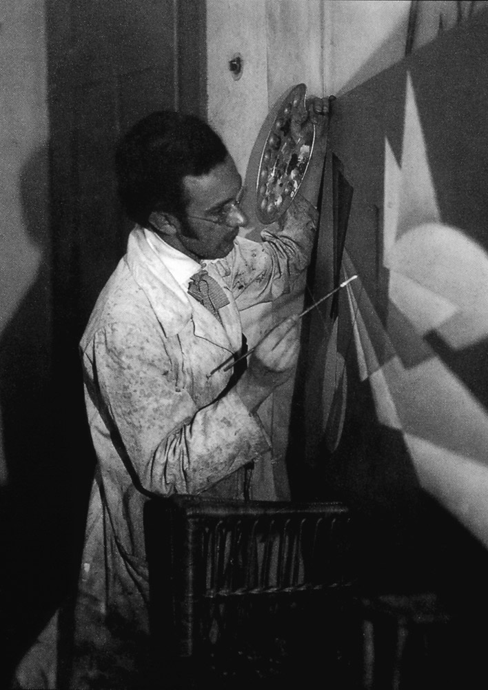 Alfred Ehrhardt at the Easel, around 1930
