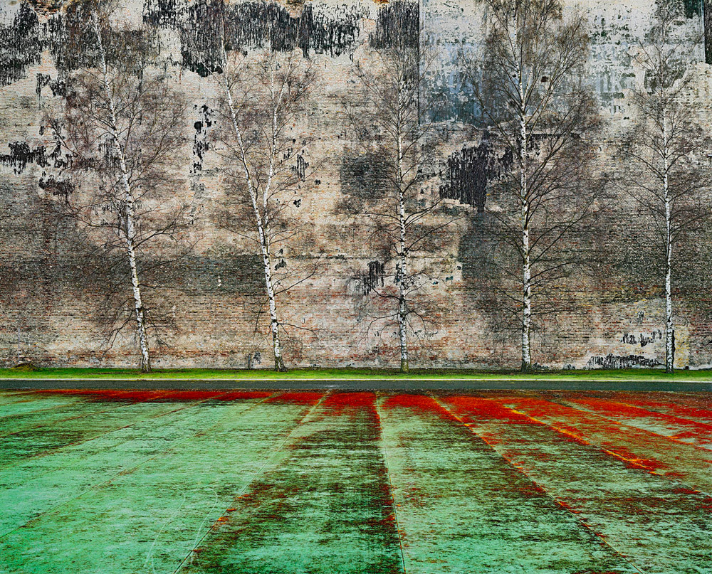 Harf Zimmermann Brandwand #9, 2011, 177 x 219 cm © Harf Zimmermann