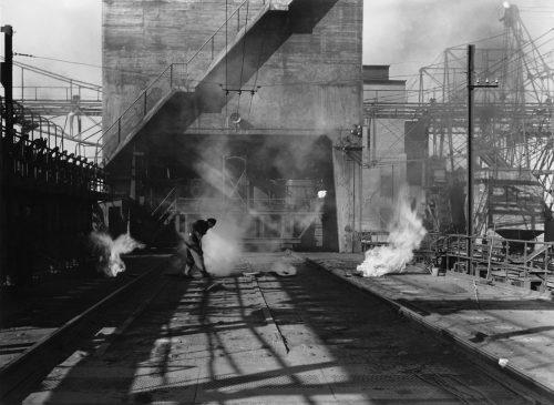 Alfred Ehrhardt, Norddeutsche Kohlen- und Kokswerke AG, Veddel, Hamburger Industrie, 1952, © Alfred Ehrhardt Stiftung
