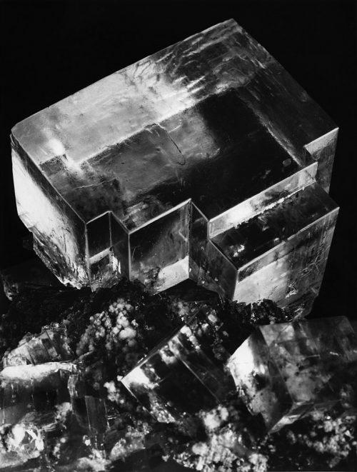 Alfred Ehrhardt, Steinsalz, Wieliczka, Polen, Kristalle, 1938/39, © Alfred Ehrhardt Stiftung