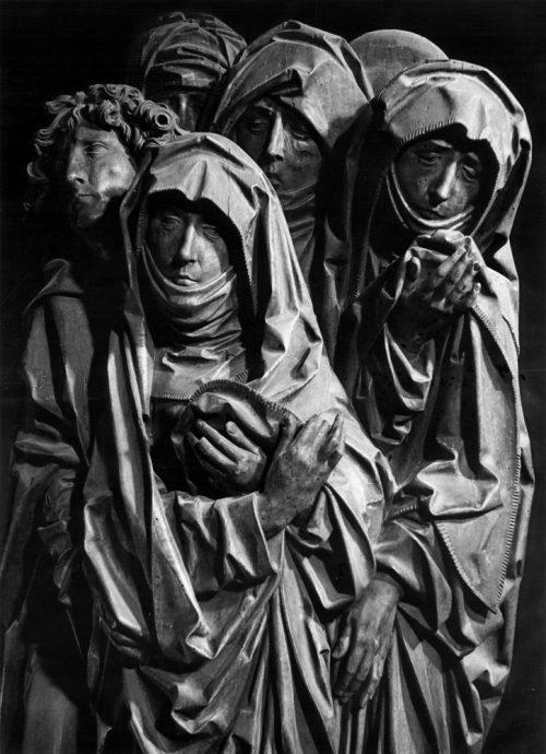 Alfred Ehrhardt, Tilman Riemenschneider, Szene aus dem Altar von St. Peter und Paul, Detwang, 1954/55, © Alfred Ehrhardt Stiftung