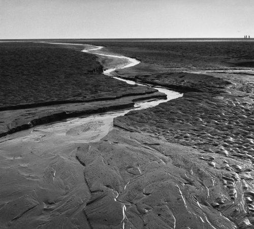 Alfred Ehrhardt, Ein Priel im Watt, 1933-36, © bpk / Alfred Ehrhardt Stiftung