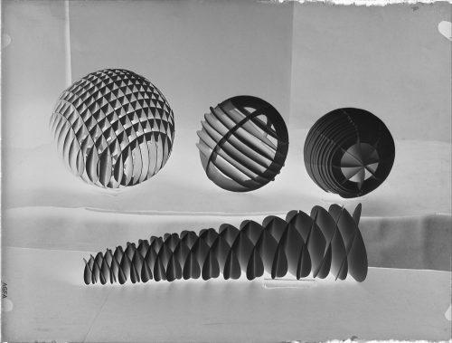Alfred Ehrhardt, Schülerarbeit, Vorkurs Klasse Ehrhardt, Negativ, 1930-33, © Alfred Ehrhardt Stiftung
