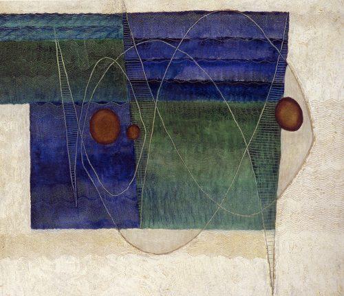 Alfred Ehrhardt, Ohne Titel (Fische), 1931, Tempera auf Holz (Masonit), 60,0 x 70,0 cm, © Alfred Ehrhardt Stiftung